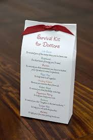 doctor appreciation gifts survival kit for idea physician week day gift ideas