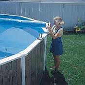 above ground pool solar covers. Above Ground Solar Pool Cover Reels Covers