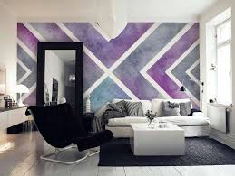 starburst ombre wall paint