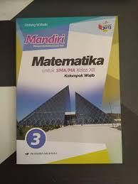 Kunci jawaban pas matematika kelas 7 kurikulum 2013 tahun pelajaran 2019/2020 silakan. Jual Mandiri Matematika 3 Untuk Sma Ma Kelas Xii K13n Erlangga Jakarta Pusat Toko Buku Mata Air Tokopedia