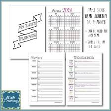 Daily Journal Planner Digital My Daily Journal Planner