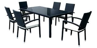black patio dining set best of black patio dining set and dining table new ideas patio