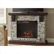 home decorators collection highland 50 in faux stone mantel electric fireplace in gray