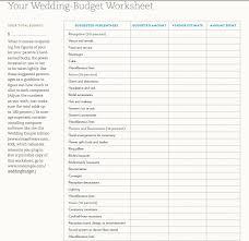 5 Wedding Budget Planning Sheet Templates Free Sample