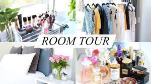 room tour makeup storage bathroom wardrobe annie jaffrey you