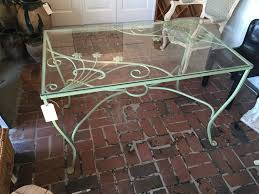 vintage wrought iron table.  Vintage For Vintage Wrought Iron Table