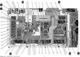 atari 8 bit wiring circuit diagrams atari 8 bit computers pulled from sam s computer facts for 800xl 800xlboardlayout jpg
