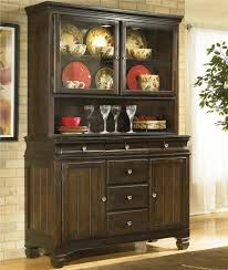 Ashley Furniture Hayley Contemporary China Buffet with Drawer and