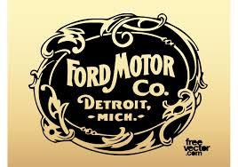 Great Old Ford Motor Company Logo