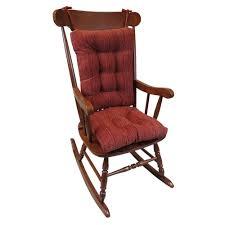 large size of seemly klear vu gripper polar chenille garnet jumbo rocking chair cushion set