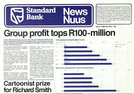 standard bank group s net income surp the r100 million mark for the first time