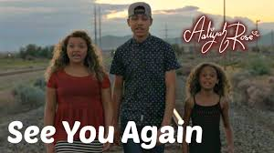 Wiz Khalifa See You Again ft. Charlie Puth Aaliyah Rose cover.