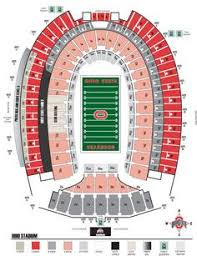Elegant Ohio State Football Stadium Seating Chart