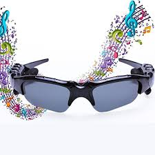 Bt 4.1 <b>Stereo Bluetooth Glasses</b> Headphon- Buy Online in ...