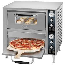oven pizza countertop double deck 240v wpo750 by waring