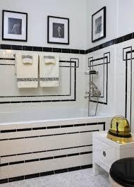 classic art deco bathroom
