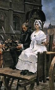 """Résultat de recherche d'images pour """"""""Portrait"""" de Marie-Antoinette, reine de France, conduite au supplice, dessiné à la plume par David, spectateur du convoi, placé sur la fenêtre de la citoyenne Jullien épouse du"""""""
