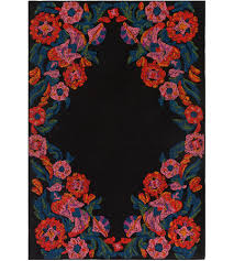 surya mya6201 23 mayan 36 x 24 inch bright pink outdoor area rug rectangle