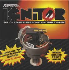 pertronix electronic ignition installation for ford falcon six pertronix 1266 box front