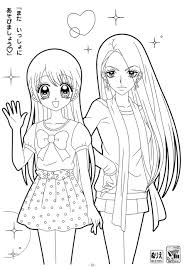 Small Picture Clipart Girl Coloring Pages Collection In Cute Girl Coloring Pages