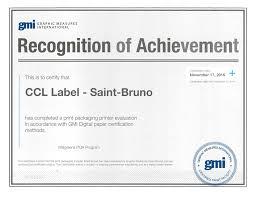 Ccl Achieves Gmi S First Digital Folding Carton Press Certification