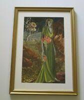 ANTIQUE GRACE MYRTLE GRIFFITH ALLISON SANTA ROSA SONOMA CA LANDSCAPE PLEIN  AIR | eBay