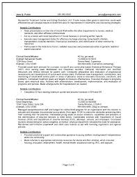 Social Worker Resume Sample – Banri