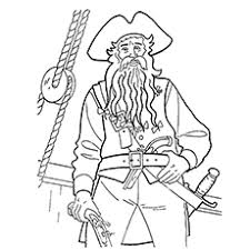Small Picture Top 10 Pirates Of The Caribbean Coloring Pages For Toddlers