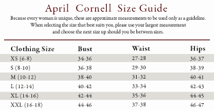 April Cornell Size Chart April Cornell Lilac Bouquet Dress