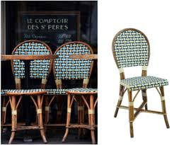 french cafe chairs woven. these french chairs are the authentic bistro completely hand crafted in france by our craftsmen. they framed natural rattan and cafe woven