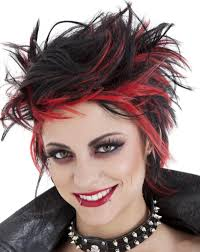 the goth spiky look