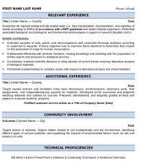 Resume For Process Operator Professional Equipment Operator