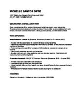News Reporter Resume Sample Television Reporter Resume Sample A