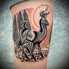 45 Inspirující Vzory Tetování Z Jelenů Punditschoolnet