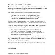 Sample Letter Of Dissatisfaction For Poor Service Archives