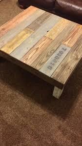 #DIY Reclaimed Pallet Wood Coffee Table   Pallet Furniture DIY