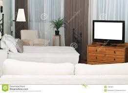 Der Große Fernseher In Einem Raum Stockfoto Bild Von Häuschen