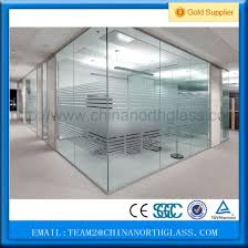 ce standard 10mm glass wall partition wall glass supplier toughened wall glass pictures