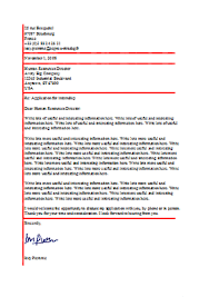 American Resume Cover Letters Cover Letter With Signature Example Functional Testing Resumes