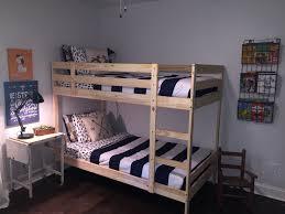 ikea mydal bunk beds adventure shared boys room  our house