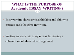essay structure by kristina yegoryan ppt video online what is the purpose of academic essay writing