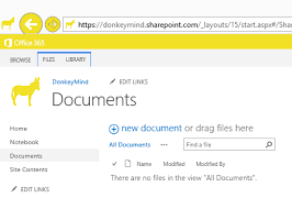 Sharepoint 2010 Library Template Office 365 Guide Series Using Your Document Templates In