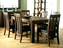 frightening black dining table and 6 chairs sworth extending dark wood dining table and 6 java
