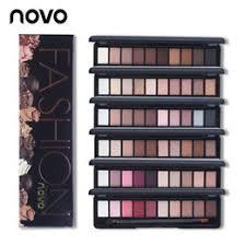 novo brand fashion 10 colors shimmer matte eye shadow makeup palette light eyeshadow natural make up