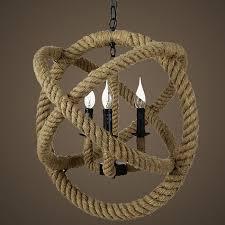 north country hemp rope pendant lighting 9253