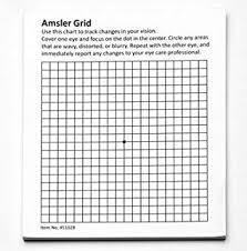 Types Of Amsler Grid Chart Amazon Com Amsler Grid Chart Set Expanded Health