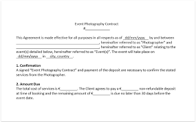 Wedding Photography Contract Form Wedding Photography Contract Template Download Free Pdf And Doc