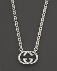 gucci necklace mens. gucci sterling silver necklace mens 2