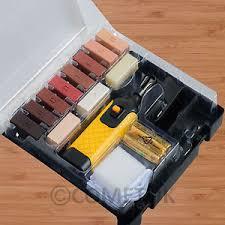 Image Is Loading 19pc Wood Laminate Floor Worktop Furniture Repair Kit