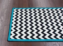 black and white striped rug 6 9